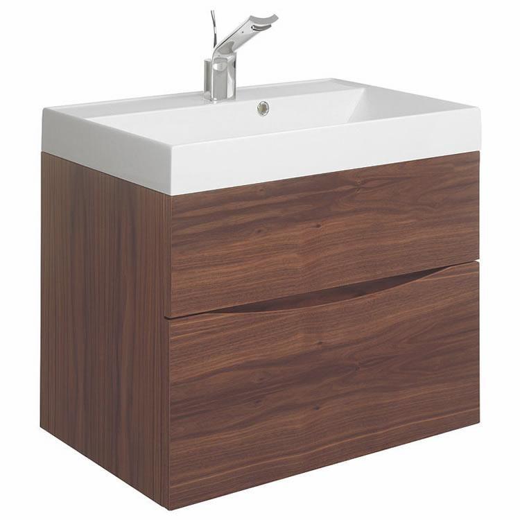 Crosswater Bauhaus Furniture Glide ll American Walnut 70