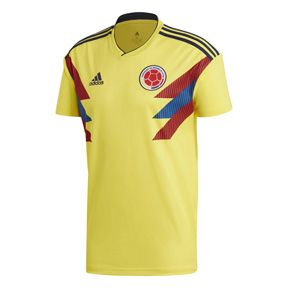 adidas Youth Colombia World Cup 2018 Soccer Jersey (Home)   SoccerEvolution 13a5e90eb