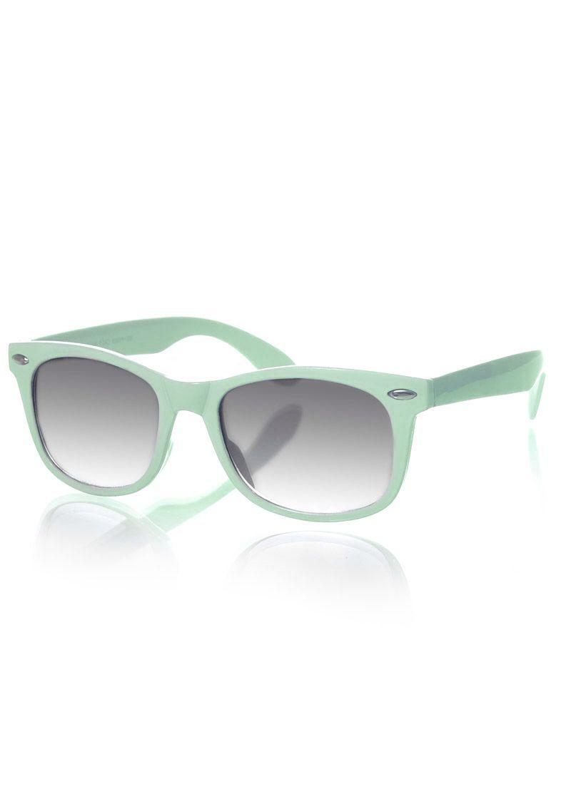 Party favor. Mint green wayfarer sunglasses | Bachelorette Party ...