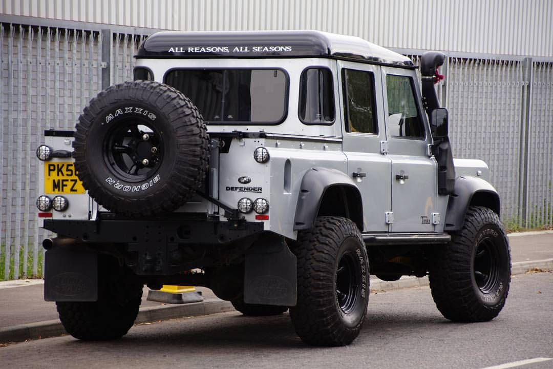 Chunky Beefy And Around Meaty Defender110crewcab By