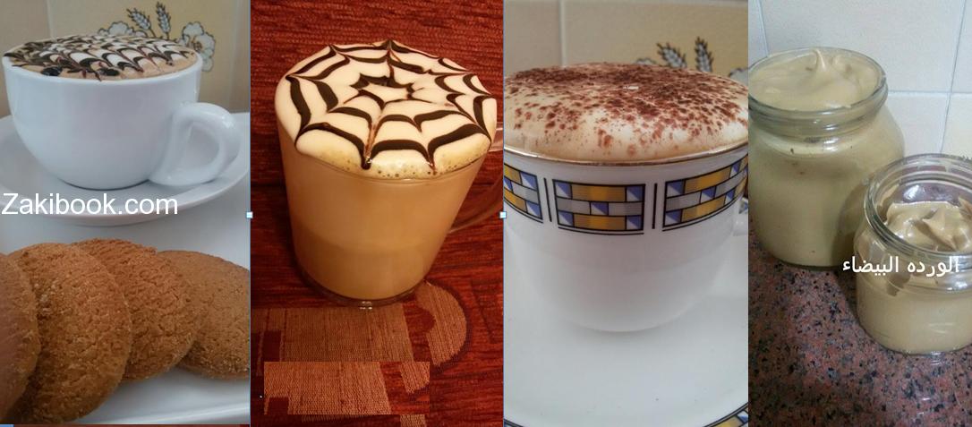 طريقة عمل نسكافية الكابتشينو فى المنزل وسر الرغوة بالصور والخطوات زاكي Food Desserts Pudding