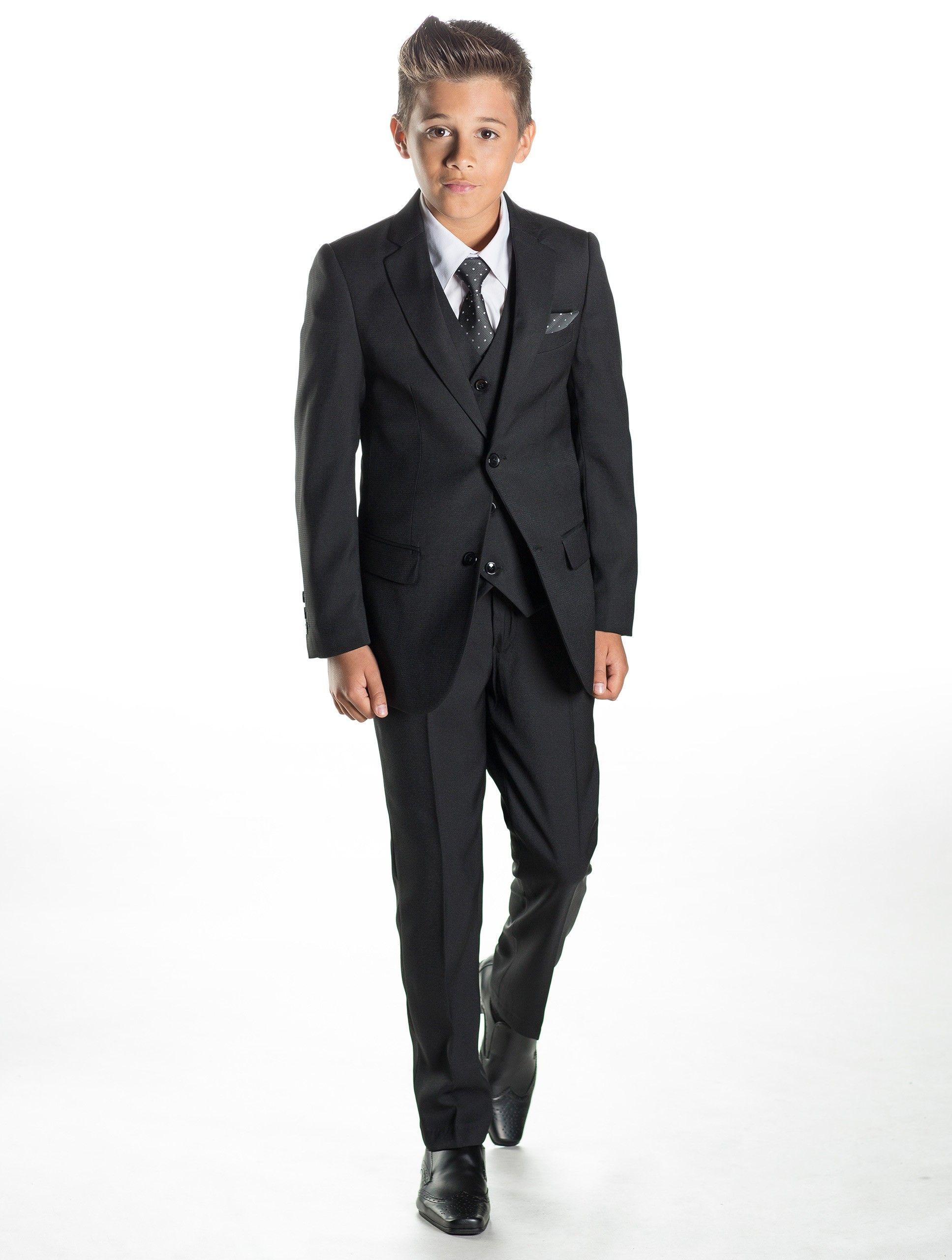 boys black suit | Classy | Pinterest