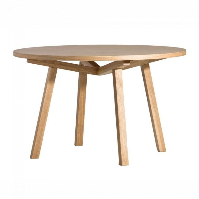 Forte Round Timber Dining Table 120cm Diameter My Pick