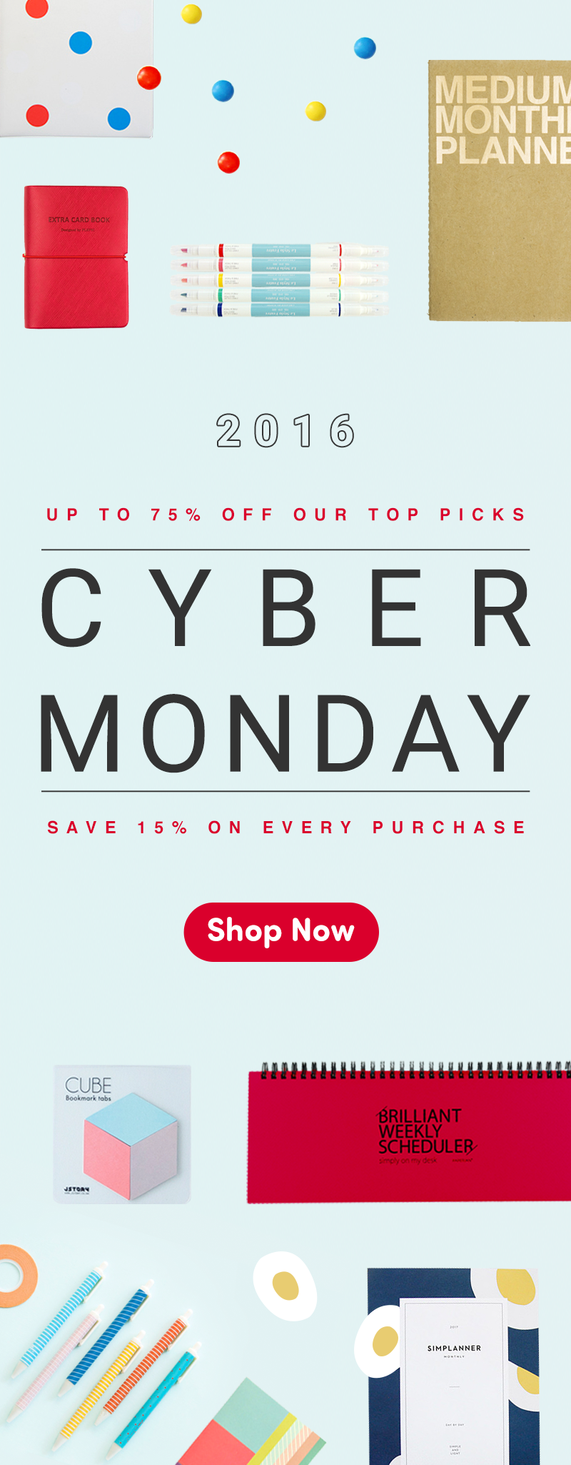 Cyber Monday 2016 Starts Today At Mochithings Just For You Save 15 On Everything Sitewide And Save Extra On Mochithings Cyber Monday Sales Cyber Monday