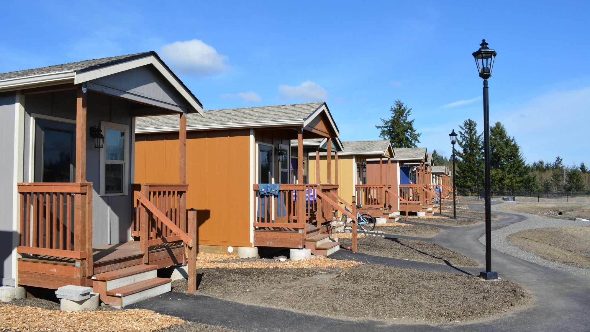 how tiny house communities can work for both the haves and the have