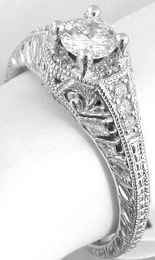 Vintage Wedding Ring, this is absolutely beautiful!