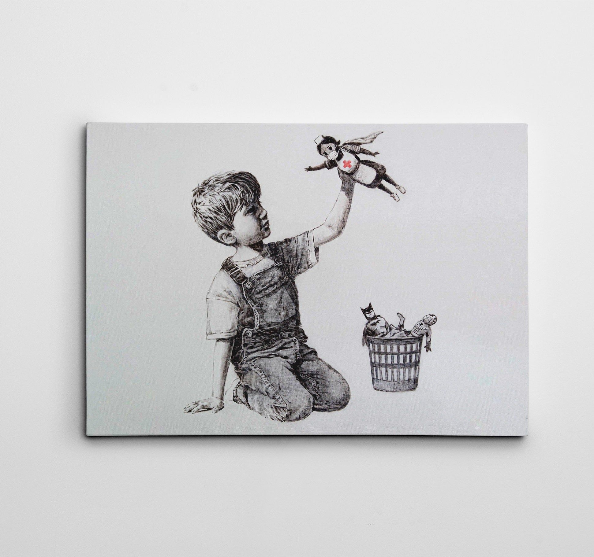 29+ Banksy game changer print information