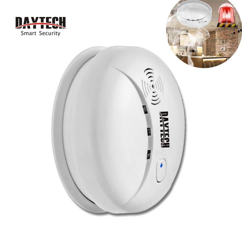 Daytech Fire Smoke Detector Alarm Sensor Battery Operate Smoke Alert Sensor For Kitchen Restaurant Hotel Home Home Security Home Security Alarm Smoke Detector