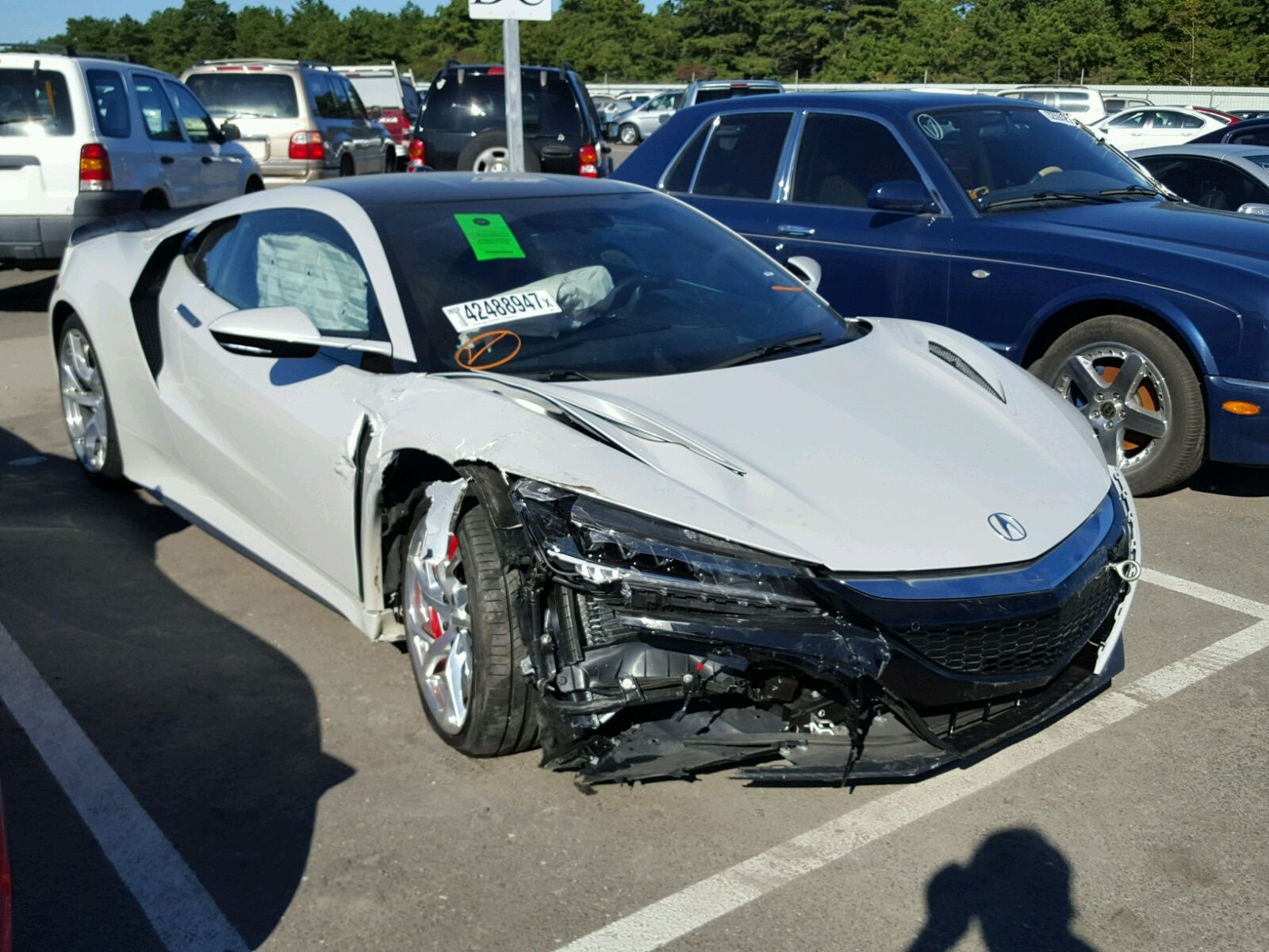 Salvage 2017 Acura Nsx Small Luxury Cars 2017 Acura Nsx Salvage