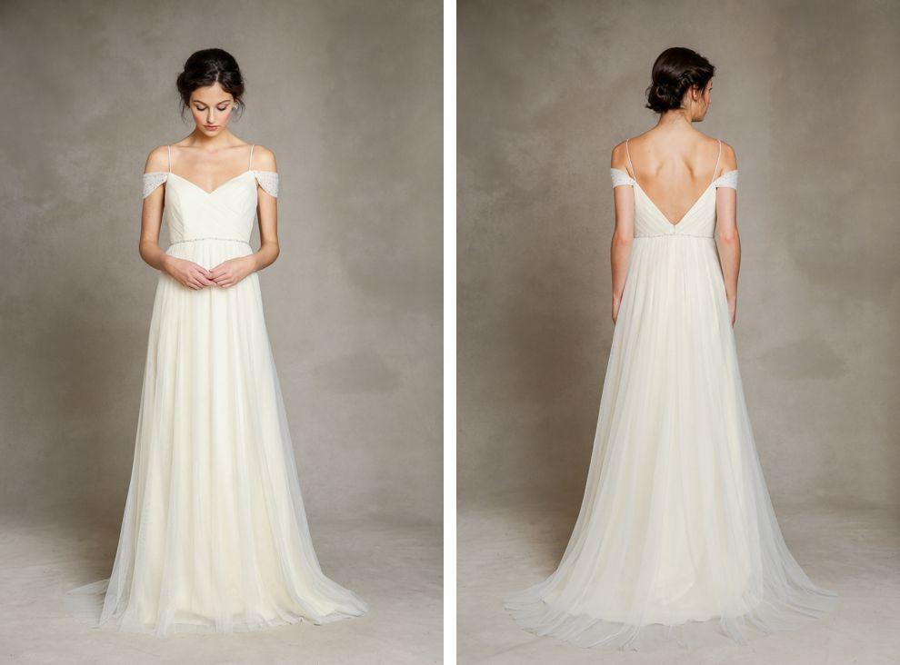 Jenny Yoo Mia, $800 Size: 4   Sample Wedding Dresses Great Ideas