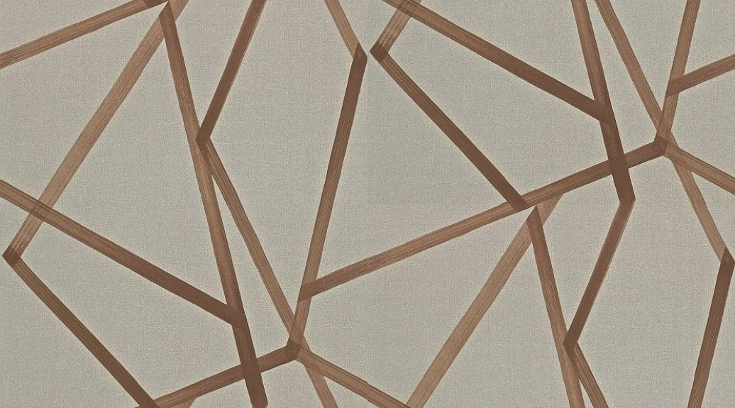 navy gold geometric wallpaper