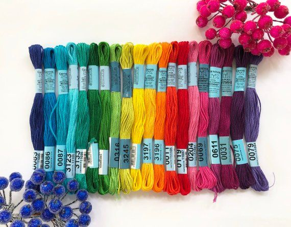 Anchor Stranded Cotton Embroidery Thread 1005 per skein