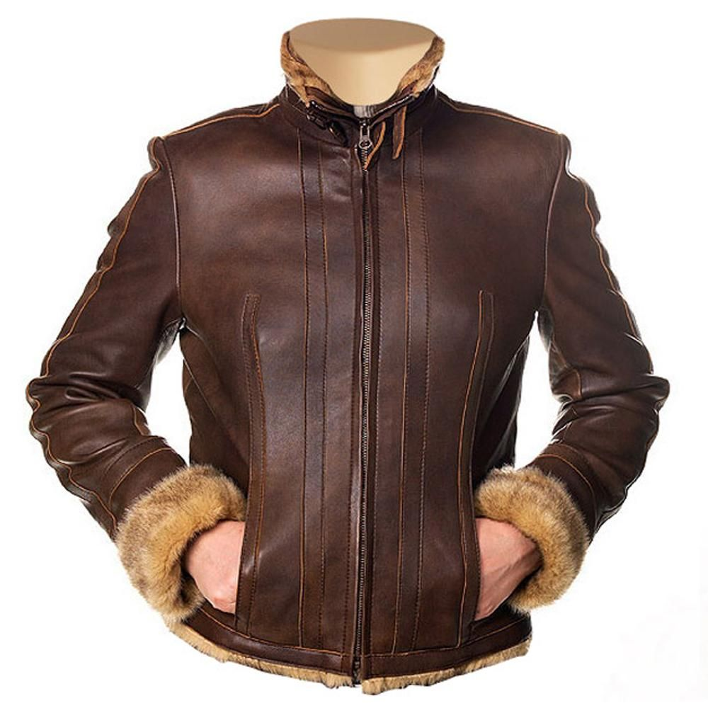 Women S Eve Fur Lined Brown Leather Jacket Leather Jacket Brown Leather Jacket Womens Black Leather Jacket [ 1000 x 1000 Pixel ]