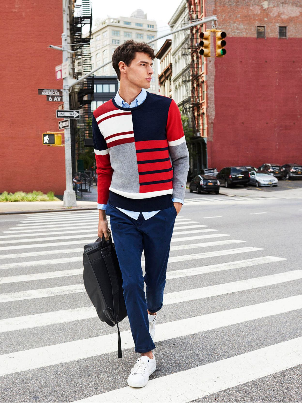 238ce579 Earn Your Stripes in Red, White and Blue Tommy Hilfiger Shirts, Red Tommy  Hilfiger