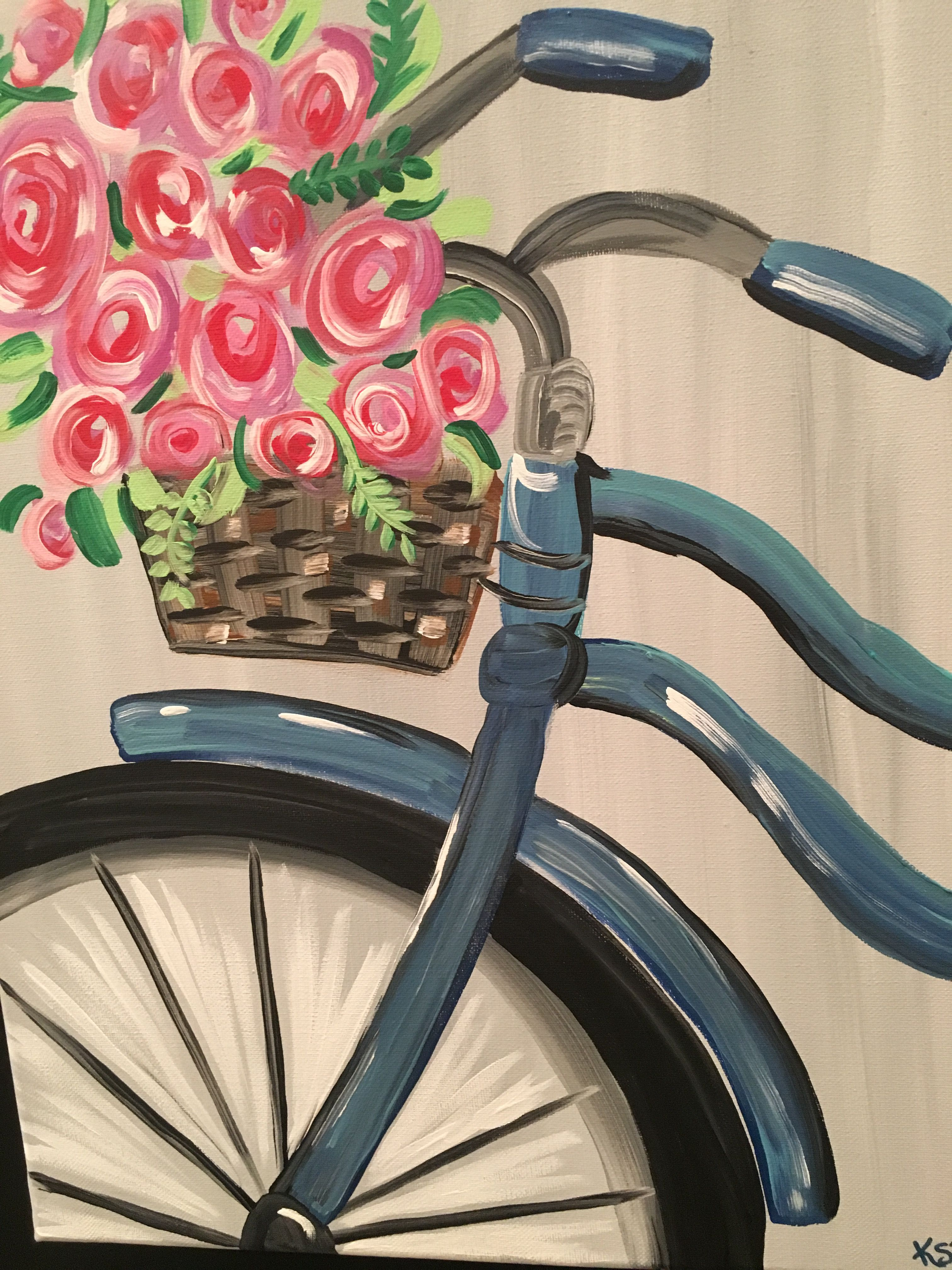 Pin By Uncorked Artist Sc On Uncorked Artist Sc Flower Painting