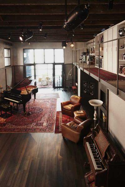 open space studio music pinterest musik raum und tonstudio. Black Bedroom Furniture Sets. Home Design Ideas