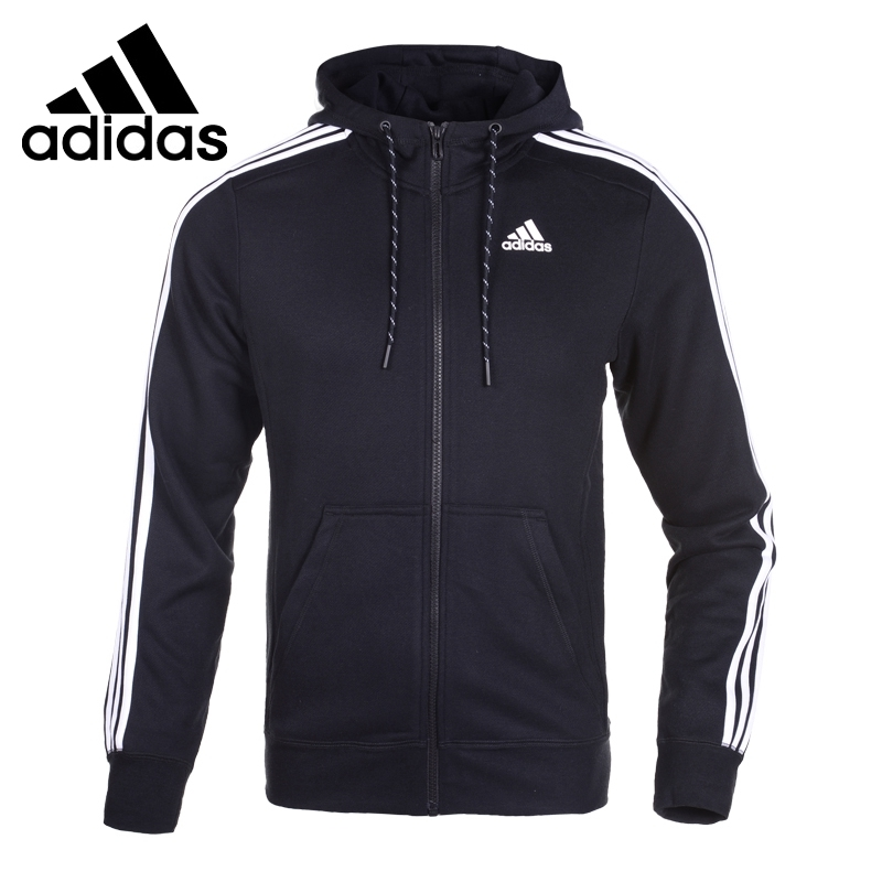 (89.00$)  Buy here  - Original  Adidas performance  men's jackets  Hooded Plain Sportswear