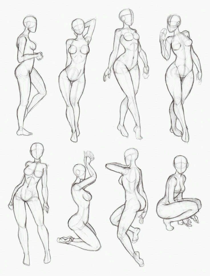 Female Pose Anatomy   Anatomy/Tutorials   Pinterest   Female poses ...