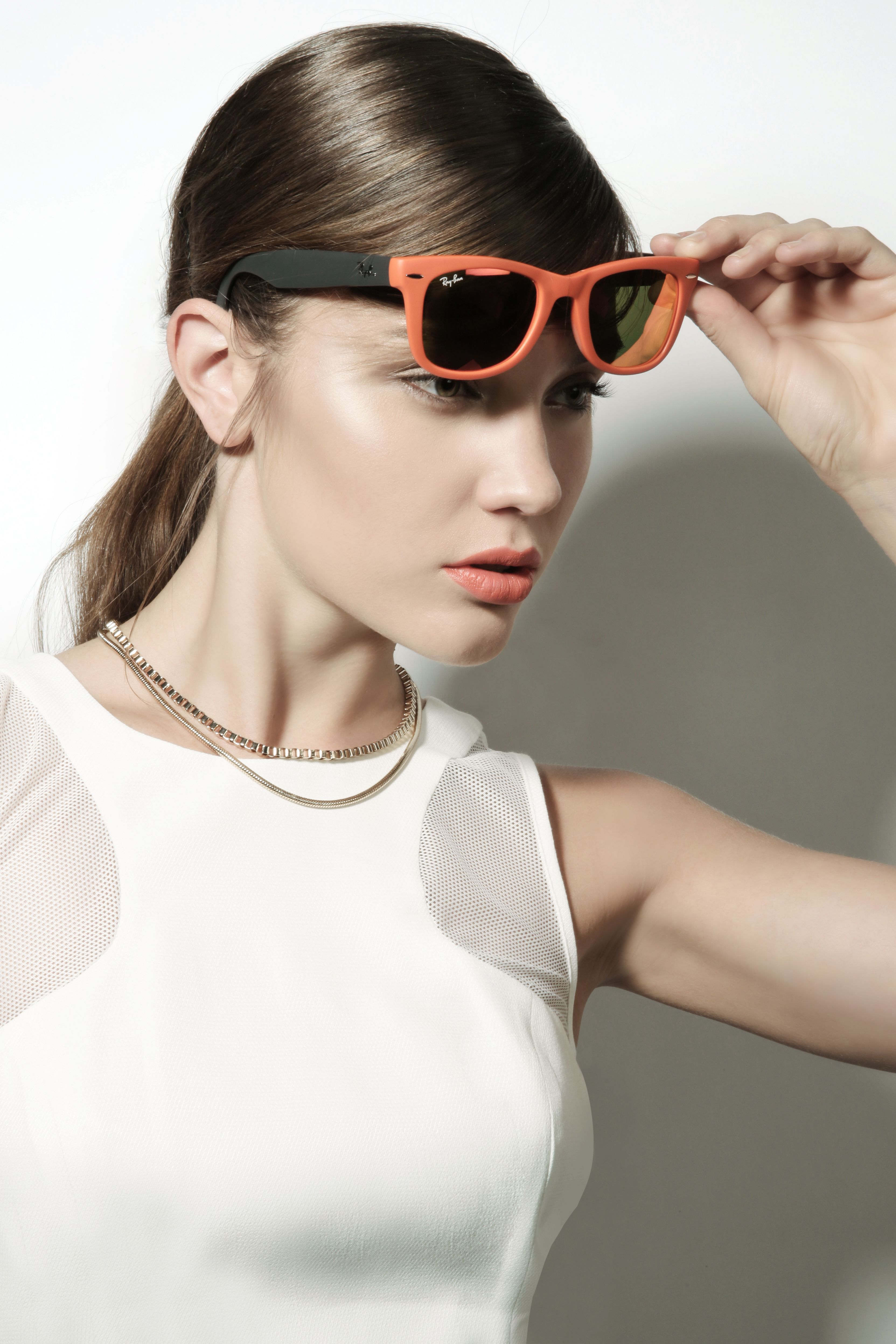Boyner Sunglasses Trend Yaz Sun Cool Gozluk Turuncu Fashion Moda Style Attractive Mysterious Orange Elegant Gunes Summer Moda Trendler Gozluk