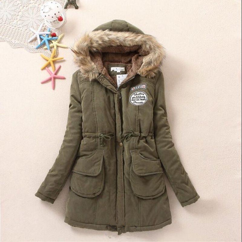 Autumn Winter Coats Women Korean Style Faux Fur Fleece Lined ...