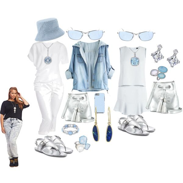 Whites by blujay1126 on Polyvore featuring BCBGMAXAZRIA, Agnona, Old Navy, Wet Seal, Hogan, Tory Burch, Miadora, Nadri, 1928 and Collette Z