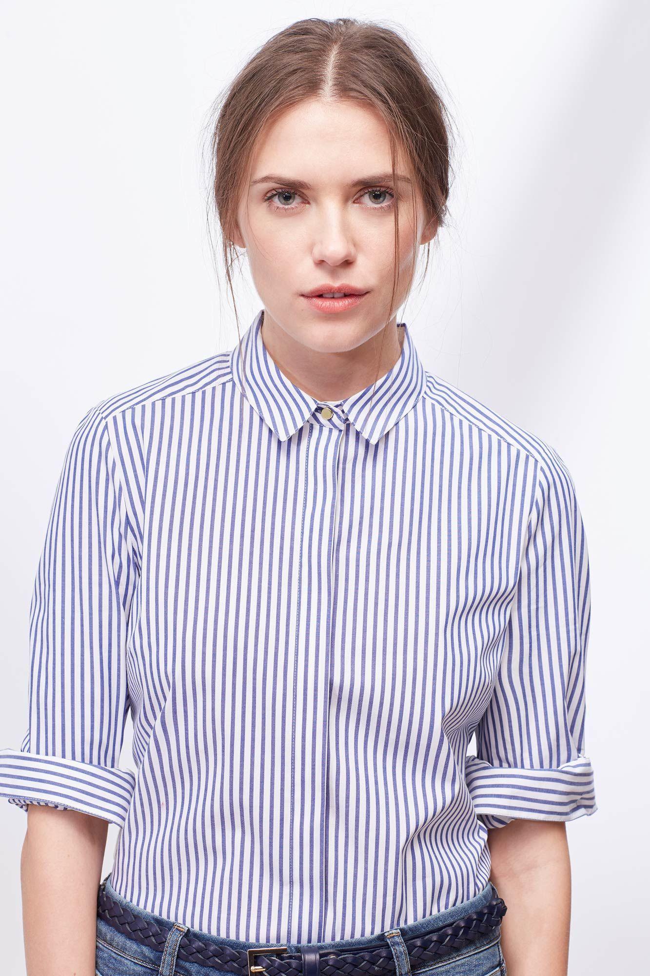 Camisa Vestir Blusas Cortefiel Camisa Vestido Camisas Formales Blusa Vestido