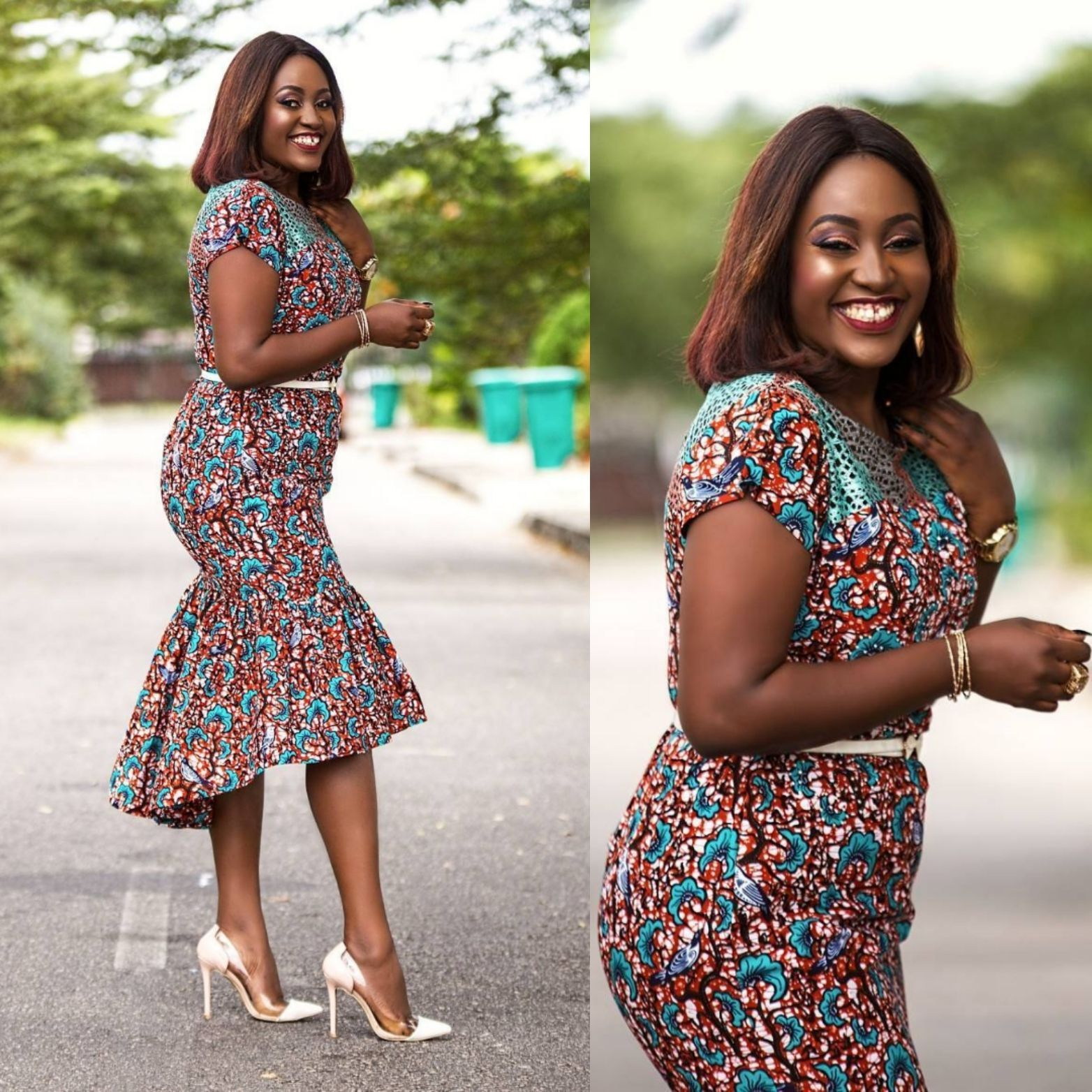 d3ad7be3c1d Love wearing Ankara  If yes