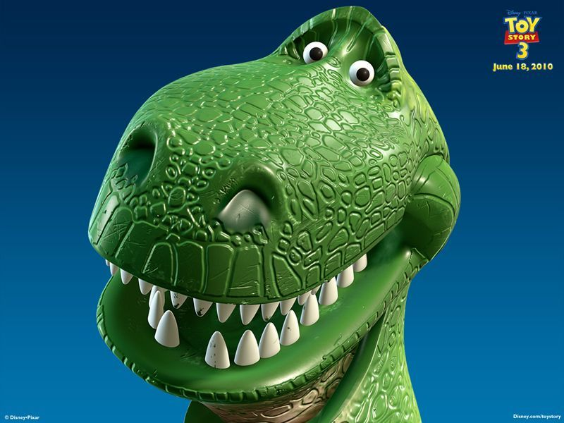 Image result for images of toy story t rex