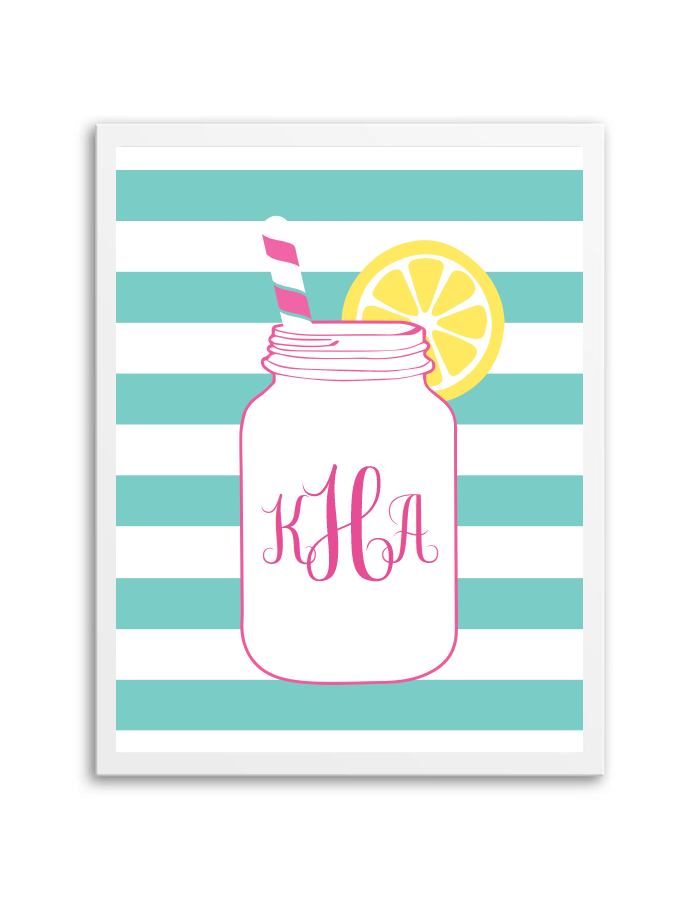 download and print this free mason jar monogram maker just follow the directions below to make your own monogram