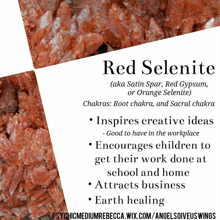 Red Selenite Crystal Meaning Spiritual Crystals Energy Crystals Cleansing Crystals