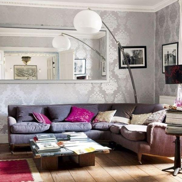 Wollen Sie Ihr Wohnzimmer neu gestalten oder lieber nur eine - wohnzimmer tapete modern