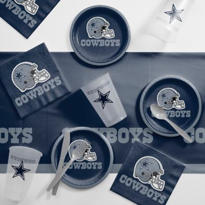 Nfl Dallas Cowboys 56 Piece Complete Tailgate Party Kit Bed Bath Beyond Dallas Cowboys Birthday Party Kit Cowboy Party Supplies