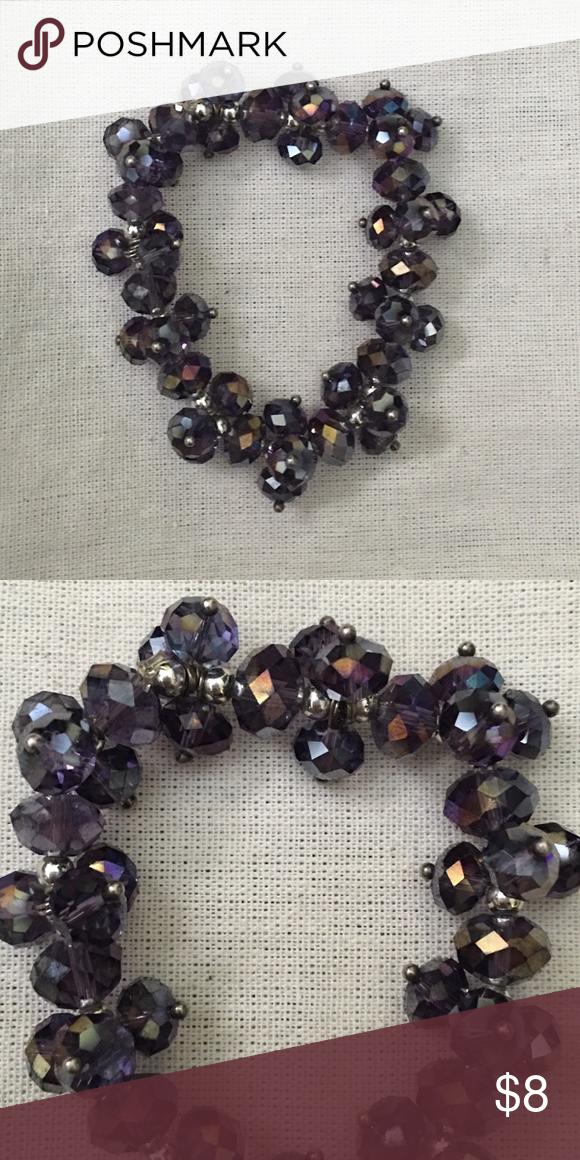 Sparkly purple stretch bracelet Very sparkly purple stretch bracelet Jewelry Bracelets