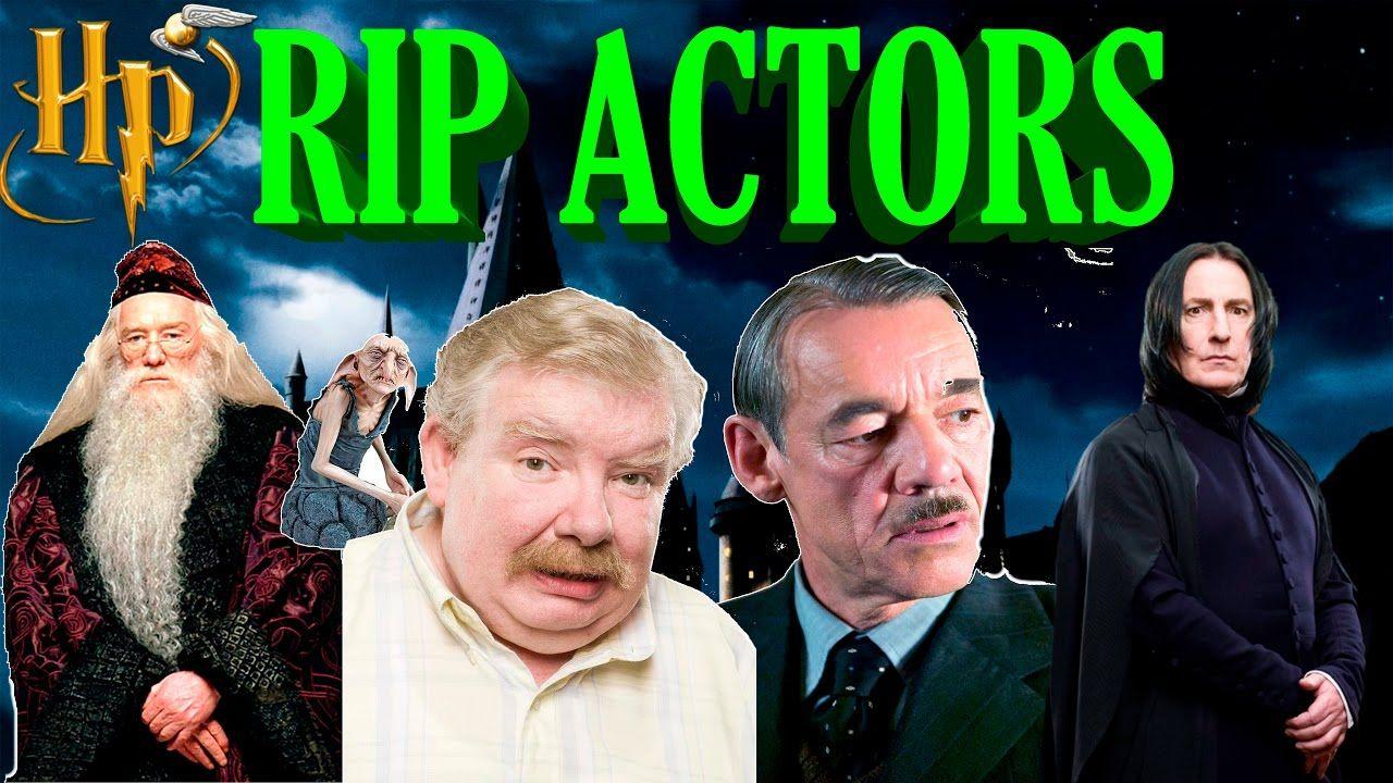Harry Potter Actors Who Passed Away Deceased Actors Of The Films Tribute Harry Potter Actors Harry Potter Actors