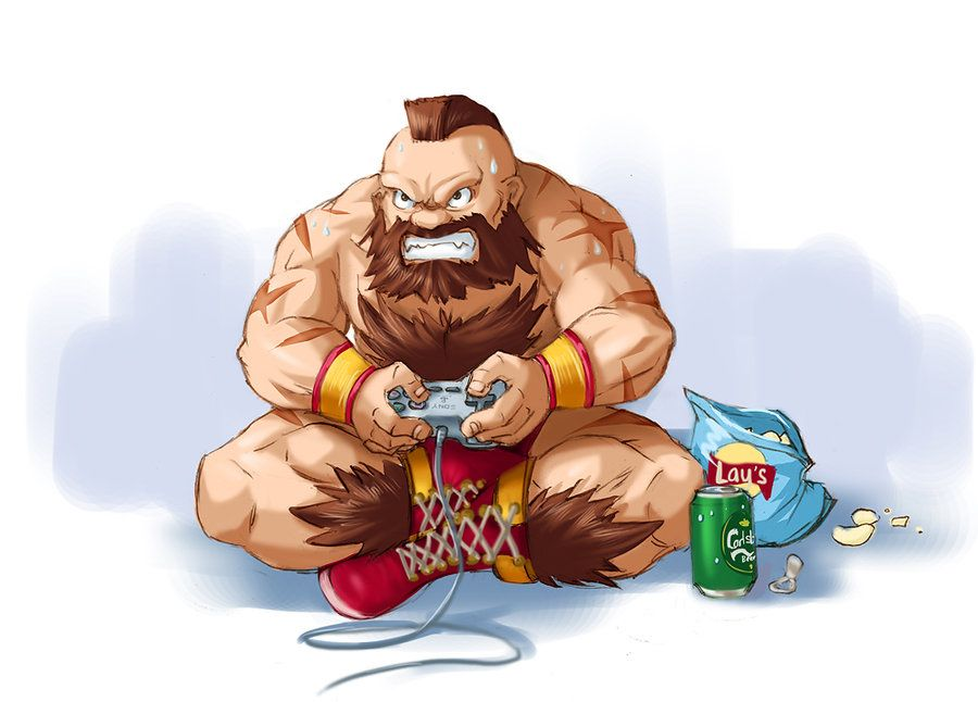 Zangief in Street Fighter V wallpaper Game wallpapers