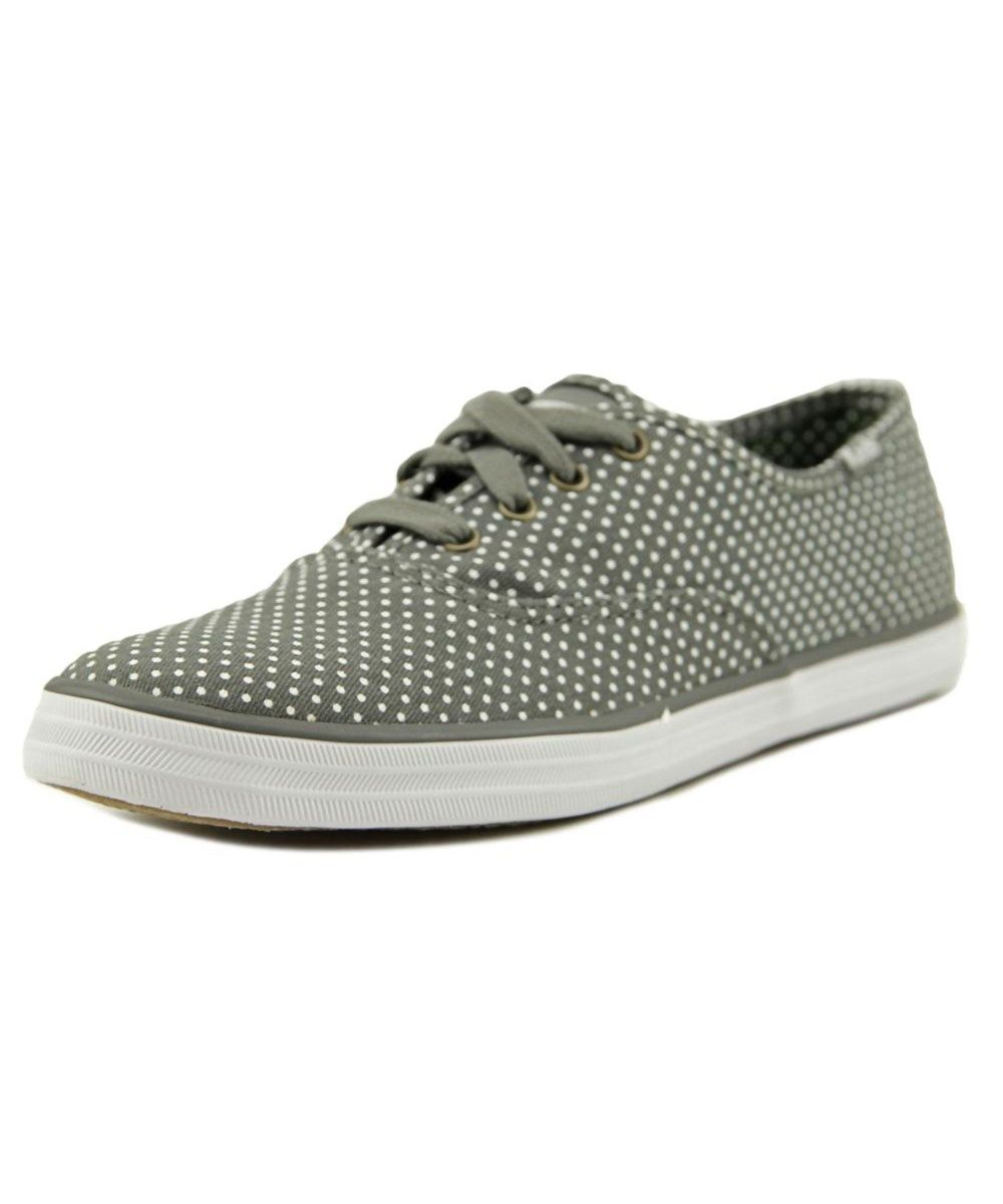 092289650a561 KEDS Keds Champion Micro Dot Women Round Toe Canvas Gray Sneakers .  keds   shoes  sneakers