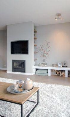 Mooi centraal punt in de woonkamer - Inrichting | Pinterest ...