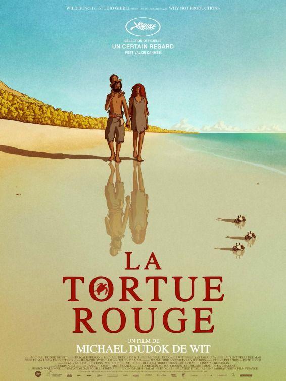 A Tartaruga Vermelha La Tortue Rouge Dir Michael Dudok De Wit 2016 The Red Turtle Turtle Movie Animated Movies