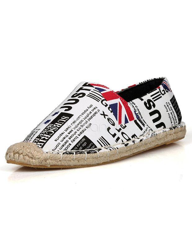 #Milanoo.com Ltd          #Men's Loafers            #Comfy #Letters #Print #Cloth #Flag #Men's #Loafer #Shoes                     Comfy Letters Print Cloth Flag Men's Loafer Shoes                             http://www.snaproduct.com/product.aspx?PID=5723402