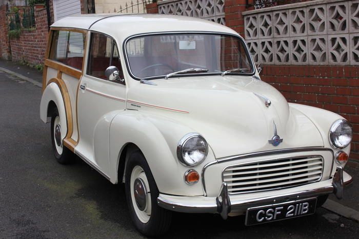 "Peter's 1963 Morris Minor Traveller ""NORRIS"" - AutoShrine Registry"