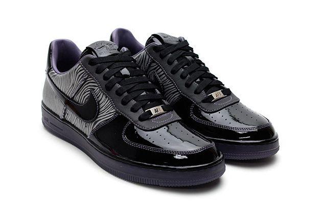 "classic fit 017b7 33eb0 Nike Air Force 1 Downtown ""Zebra"" • Highsnobiety"