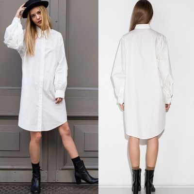 Button down white dresses