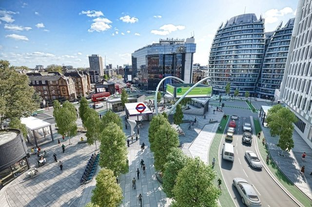 Plans afoot to revamp the 'Tech Gateway' of Old Street roundabout