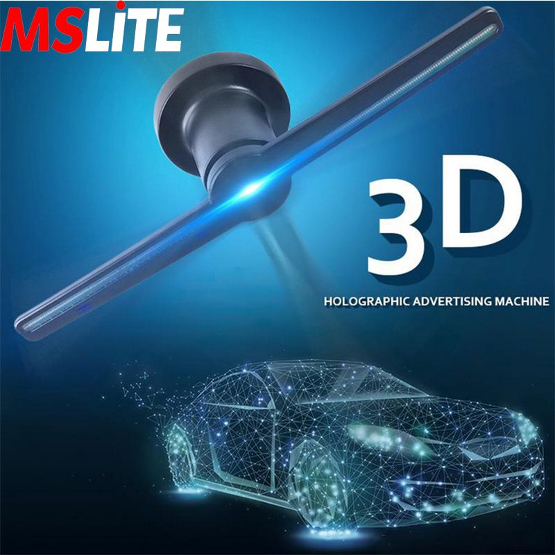 3d Remote Hologram Player Advertising Display Led Fan Holographic Imaging Lamp 3d Hologram Projector 3d Hologram Cool Technology Hologram Technology