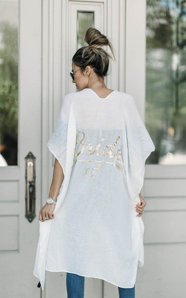 0b34f57ae0 Bride Swim Cover Up No honeymoon is complete without this Bride Swim Cover  Up. Whether