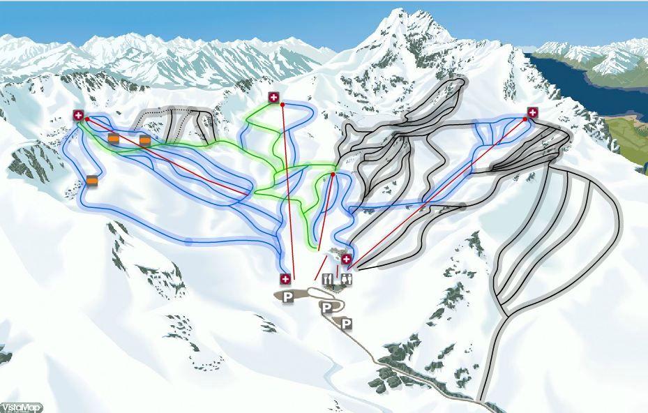 Remarkables Ski Field trail map Queenstown NZ Outside