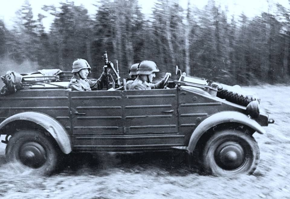The German Jeep Vw Quot K 252 Belwagen Quot Here In A Ww Ii