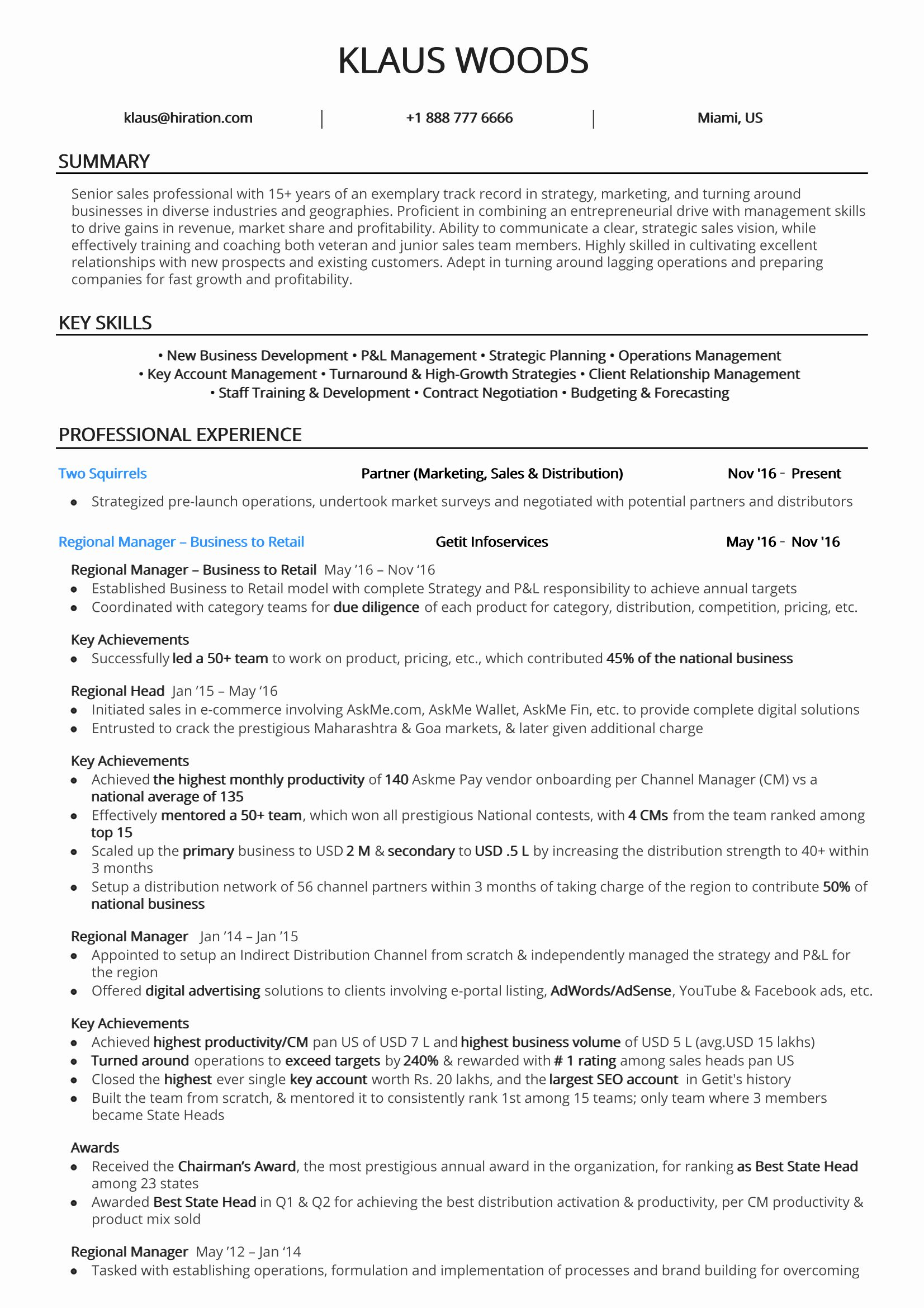 20 2 Page Resume format in 2020 Resume examples, Job