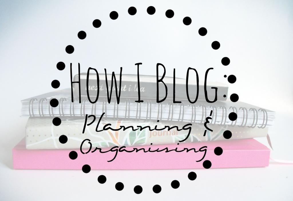 How I Blog