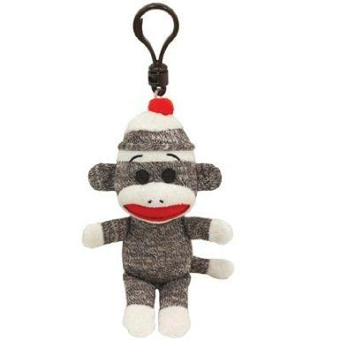 Bell Automotive 22-1-34072-8 Sock Monkey Decorative Rearview Mirror Cover